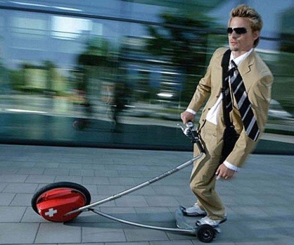 Cool Rider: Like a Segway, but Not Really