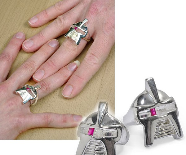 Cylon Centurion Rings: What the Frak?
