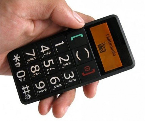 Giant Button Cell Phone for Seniors (and Simpletons)