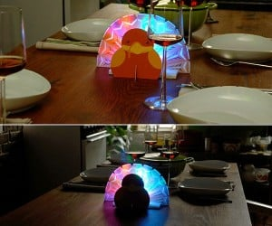 Have a Geeky Thanksgiving With an LED Turkey Centerpiece