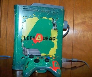 Left 4 Dead Infects Xbox 360 [Casemod]