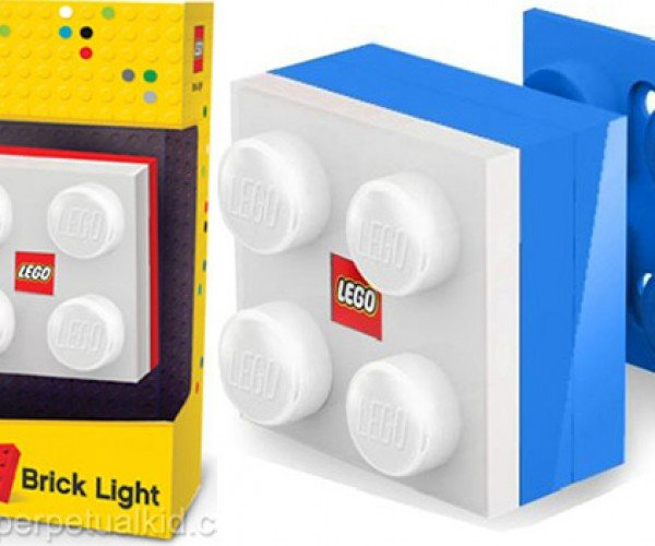 LEGO Brick Light is Too Big for Minifigs but a Tad Small for Humans