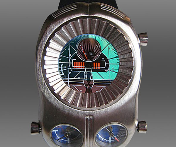 Leiji Matsumoto'S Manga Meter Watch is Big, Bad and Awesome