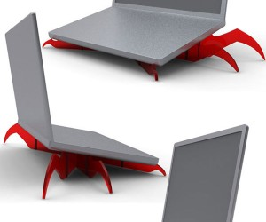 Monster Monster Laptop Stand: Give Your Computer Crabs
