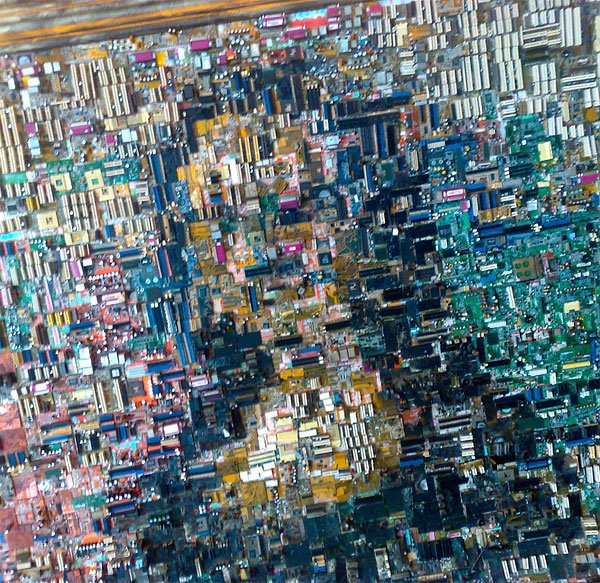 motherboard mona lisa detail