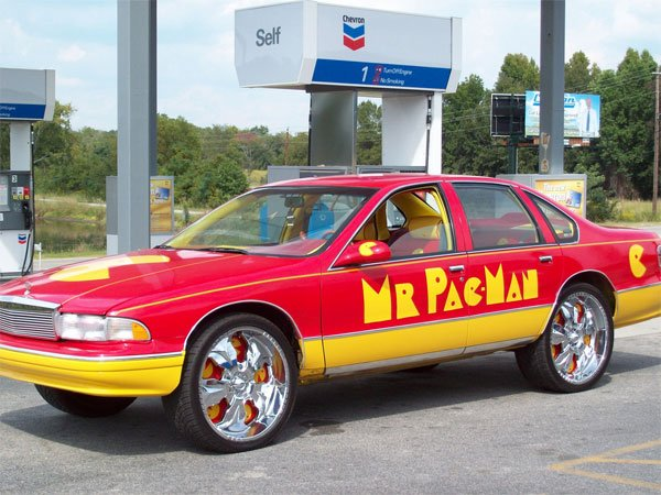 mr pac man pimpmobile car