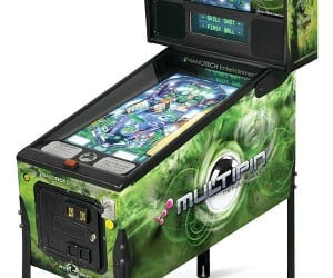 Multipin Digital Pinball Machine Offers 17 Tables in One