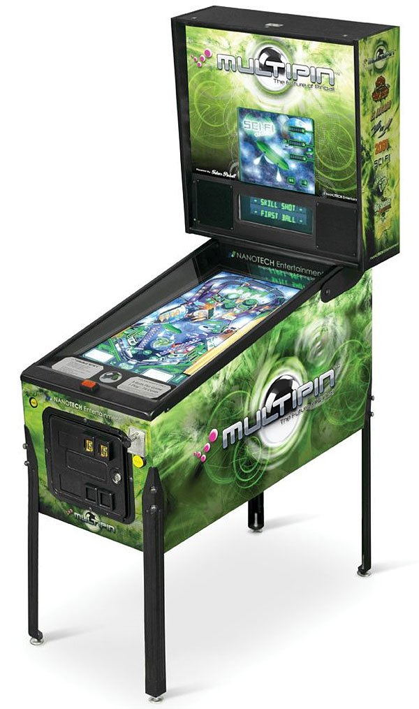 multipin digital pinball nanotech