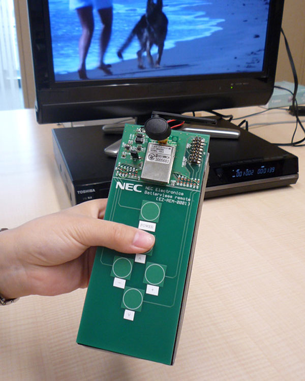 nec batteryless remote1