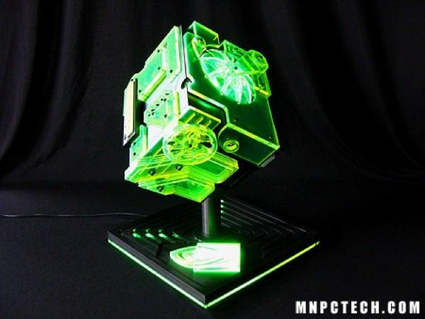 Nvidia Ion Cube Case Mod