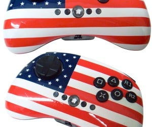 Street Pad Patriot Joypad: the Star Spangled Joystick
