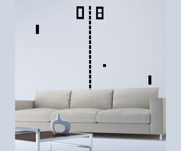 pong wall decals