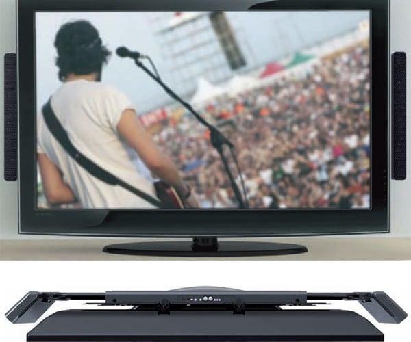 Q-Acoustics Q-Tv2 Adds Serious Sound to Flat Screen Tvs