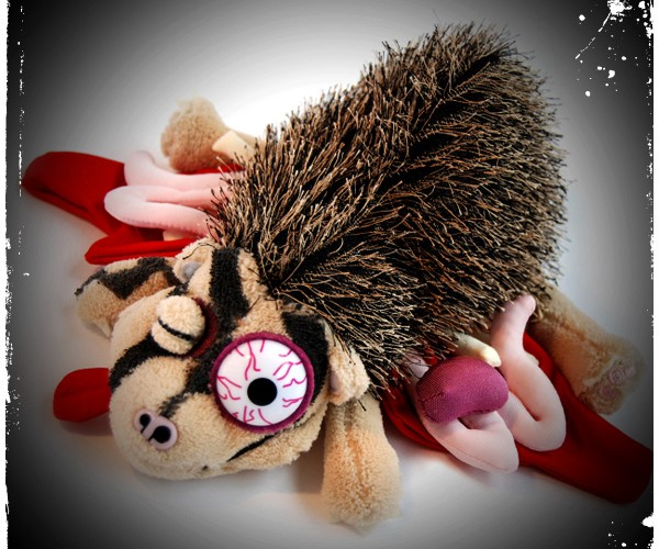 Roadkill_Plush_Hedgehog