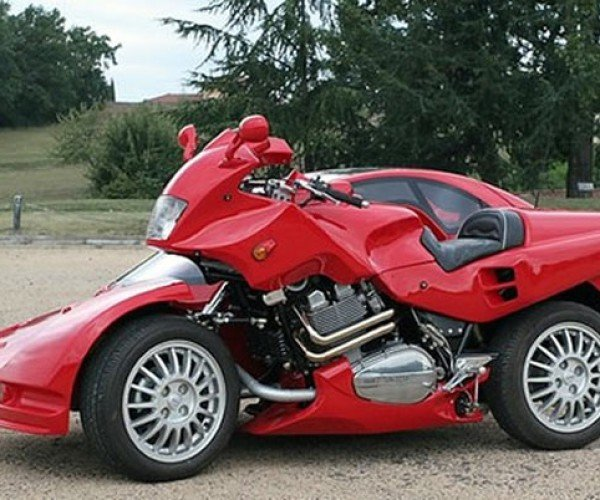 Snaefell Hybrid Car-Motorcycle: Why? Why Not?