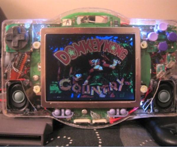 SNES + Genesis + NES + Portable = Snegenes P