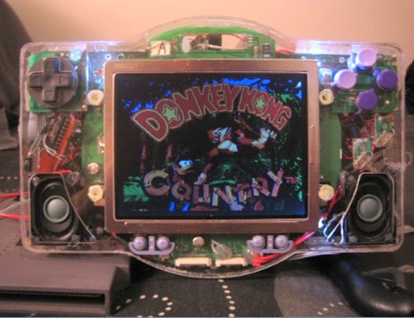 snegenes portable video game