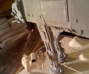Empire Strikes Back at-at Cake 3