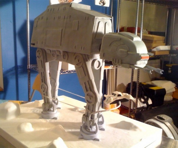Empire Strikes Back at-at Cake 2