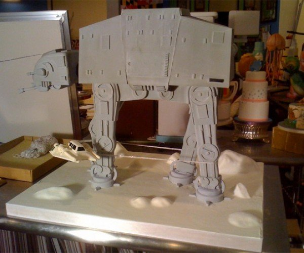 Empire Strikes Back at-at Cake 1