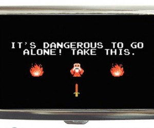 It'S Dangerous to Smoke Alone! Take This Cigarette Case [Zelda]