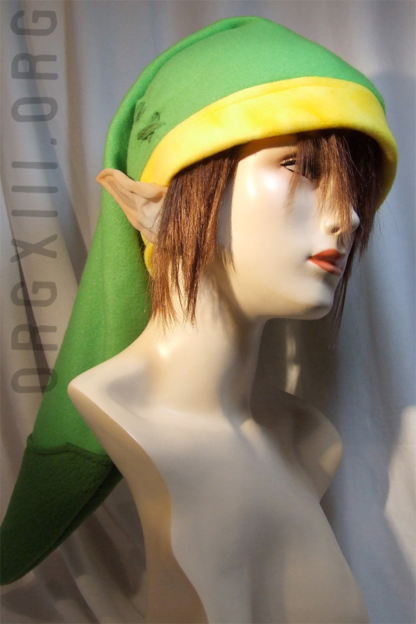 legend of zelda link hat fleece