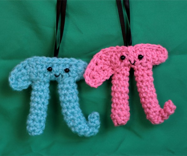 A Pair of Pi Ornaments for Your Tree