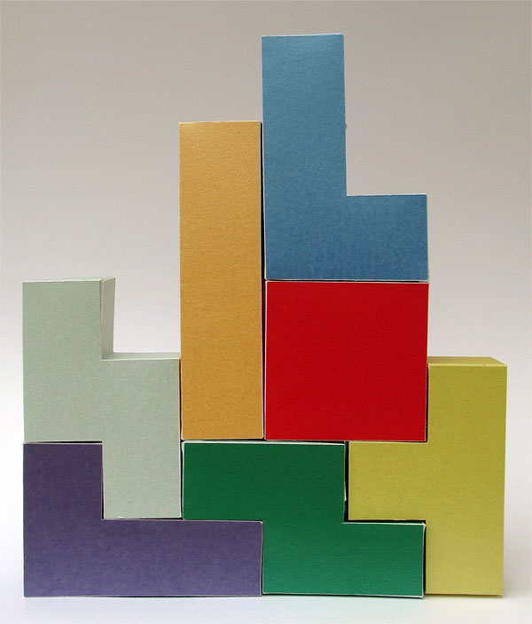 Tetris Gift Boxes: Perfect for Gifts Shaped Just Like Tetris Bricks