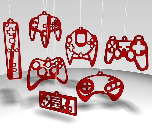 video game controller ornaments