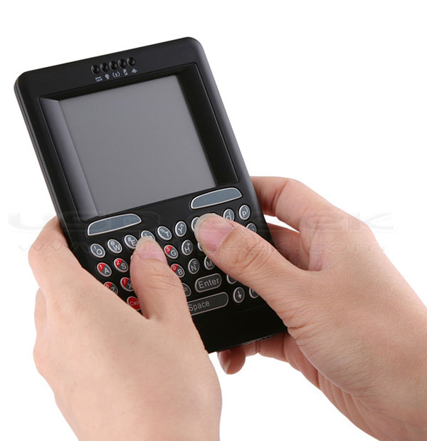 wireless text touchpad