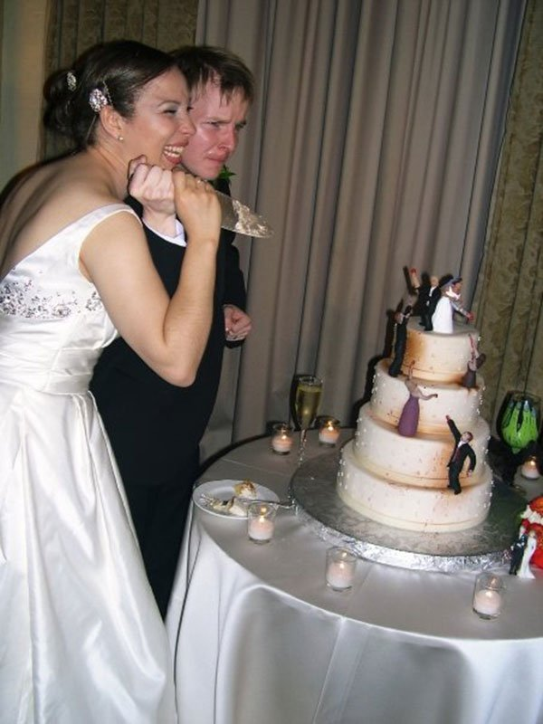 zombie infested wedding cake 2