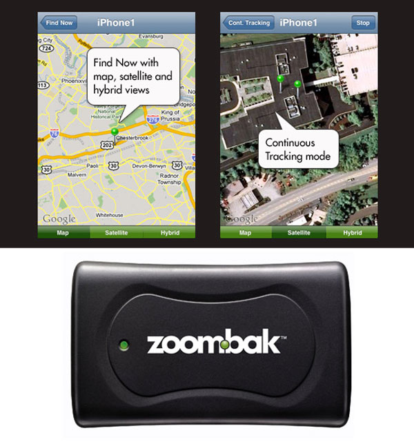 zoombak iphone app