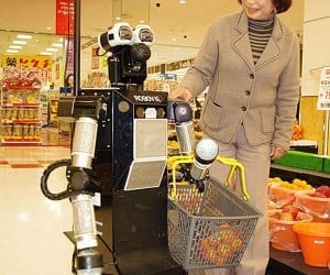 Robovie-Ii: the Grocery Shopping Robot From Japan