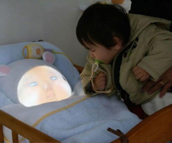 Yotaro Baby Simulator: an Interactive Robot to Teach About Parenting