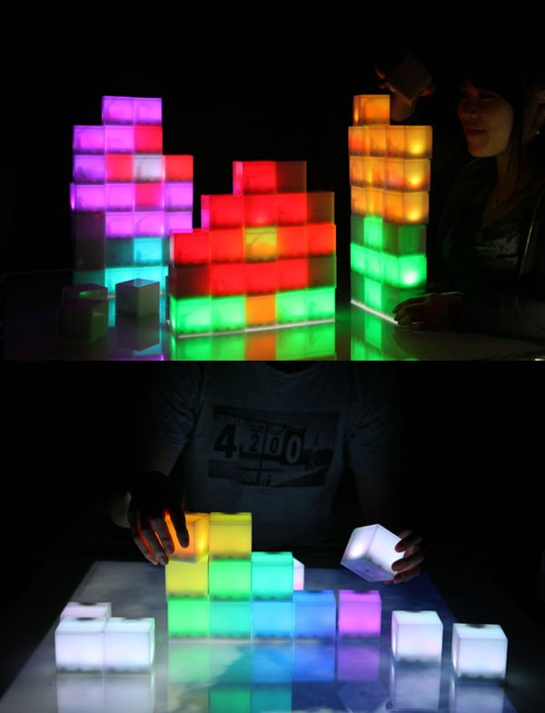 jihna lee bloxels pixel lights