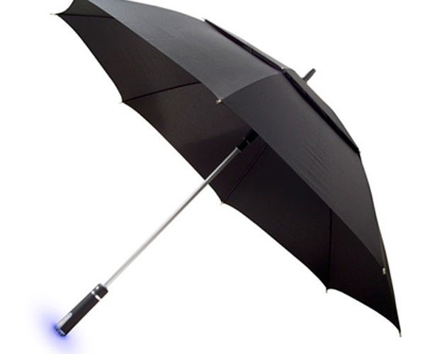 Automatic Ambient Umbrella Knows if Its Going to Rain Before You Do