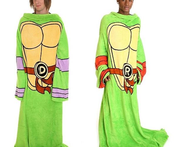 Teenage Mutant Ninja Turtles Snuggies to Keep Warm & Fight Evil