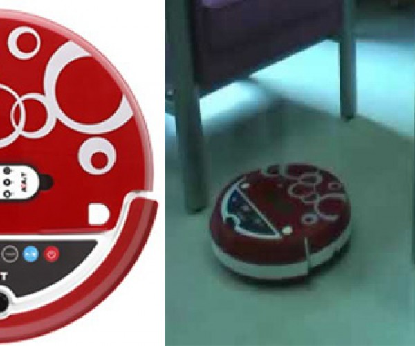 Asus Ecleaner Robot Vacuum Cleaner Kills Germs, Not People