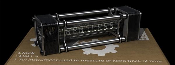 Nieda vacuum tube clock