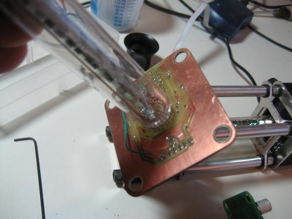 Making of the Nieda vacuum tube clock