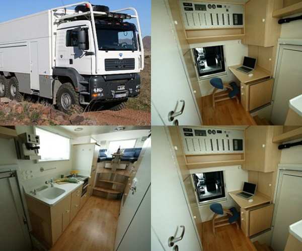 Dude Converts Garbage Truck Into Home