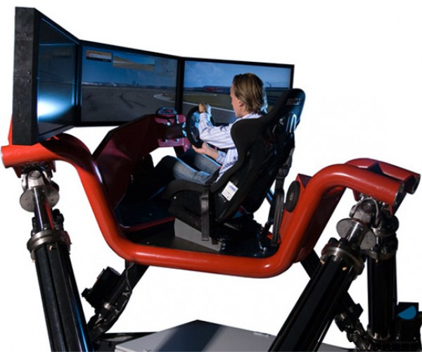 Cruden Hexatech Car Simulator Costs More Than Most Sports Cars