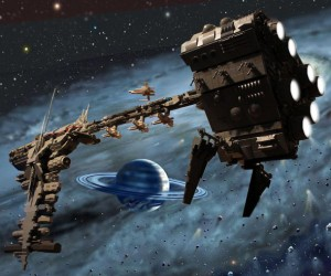 LEGO Star Wars Rebel Frigate is Frakkin' Huge
