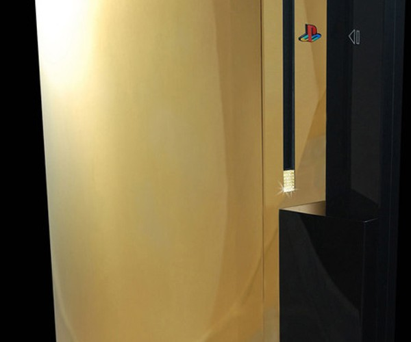 Gold Sony PS3 Supreme is the Most Expensive One in the World