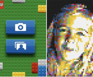 Official LEGO iPhone App Converts Images Into LEGO Mosaics… That'S It!