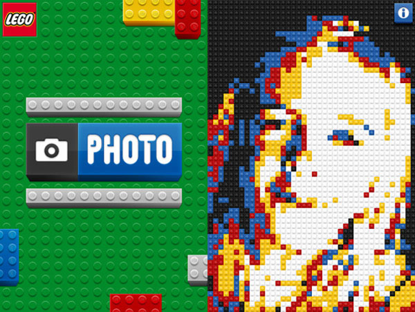 lego iphone photo app