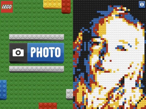 lego iphone photo app