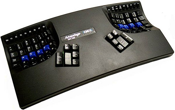 Kinesis advantage keyboard black