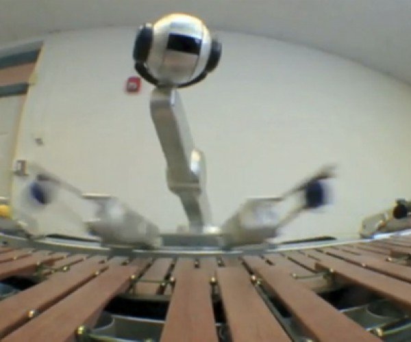 Auto(Mated)Tunes: Robot Jams With iPhone App