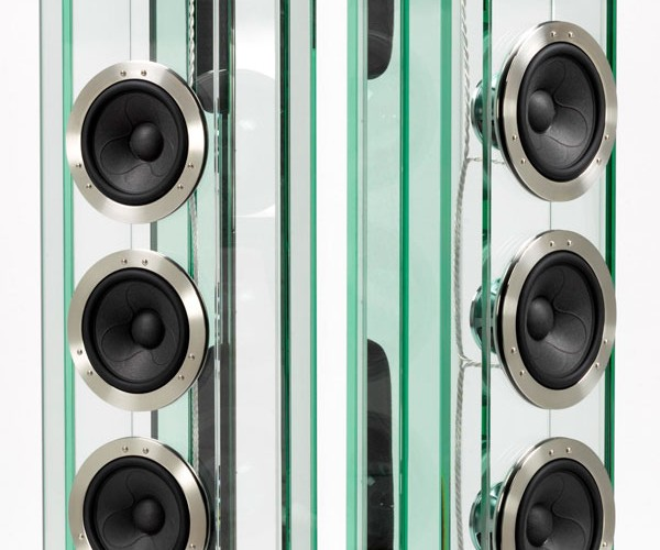 Arabesque Glass Speakers Are Fragil-Eh, but Not From Italy